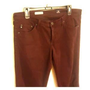 Adriano Goldschmied The stilt jeans in wine